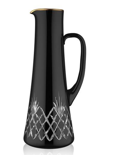 Koleksiyon Ea Sürahi Venedik Siyah Mat Altın-Koleksiyon